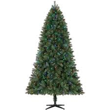 75 Foot Pre Lit Christmas Tree by Holiday Time Pre Lit 7 5 U0027 Norwich Spruce Artificial Christmas Tree