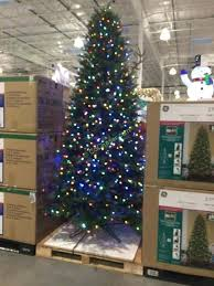 9 Ft Pre Lit Christmas Tree Dual Color Slim Canada