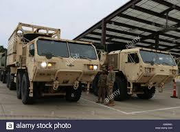 Oshkosh Military Truck Stock Photo: 158781887 - Alamy Okosh Truck Unloading Humvee Jeep From Hydraulic Trailer Stock Kosh Striker 4500 Airport 3d Model 360 View Of Fmtv M1087 A1p2 Expansible Van Truck 2016 3d Laden With Being Driven Though Woodland Hydraulic Lowered On Video Footage Photos Images Page 3 Alamy A98 3200g969 Fda238 Front Drive Steer Axle Tpi Trucks Google Search Pinterest Military American Simulator Defense Hemtt Midland Tw3500 B