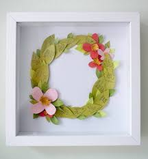 View In Gallery Floral Wreath Guest Book DIY