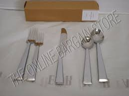 Pottery Barn Caroline Flatware Silverware Kitchen Dining Knife ... Storage Bins Pottery Barn Metal Canvas Food Gold Flatware Set Cbaarchcom Ikea Mobileflipinfo Setting A Christmas Table With Reindeer Plates Best 25 Rustic Flatware Ideas On Pinterest White Cutlery Set Caroline Silver20 Piece Service For The One With The Catalog And Winner Yellow Woodland Fall By Spode Fall Smakglad 20piece Ikea Ideas For Easter Brunch Fashionable Hostess