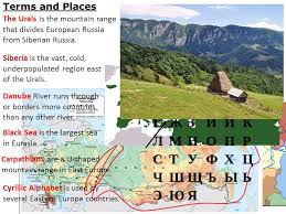 mountain ranges of europe introduction to eastern europe and siberia ppt