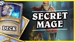 secret mage hearthstone deck std kotft youtube