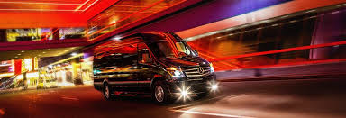 Inside Of Custom Conversion Van Limo Available In Newark New Jersey