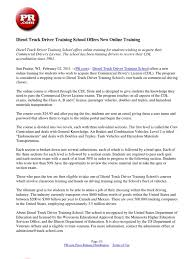 100 Sun Prairie Truck Driving School Diesel Driver Training Offers New Online Training