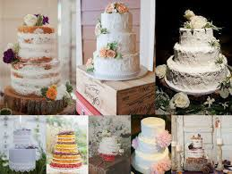 Rustic Wedding Cakes Fascinating Vintage Jpg