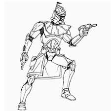 Captain Rex Star Wars Picture Character Chewbacca Colouring Pages