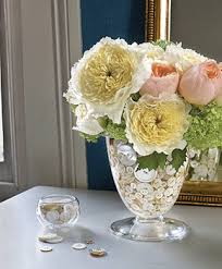 Floral Arrangements Table Centerpiece Ideas Buttons Shells
