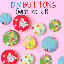 How To Make Fabric Buttons Without A Kit Or Machine TREASURIE