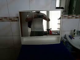 alibert schrank badezimmer spiegelschrank