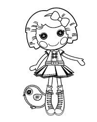 Free Lalaloopsy Coloring Pages Its A Blast Say Dot Starlight In Page Color Luna Bold Inspiration