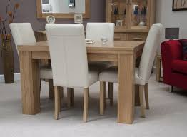 luxurious table chairs room orbit glass u weared oak room