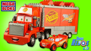 Disney Cars Mack Truck Mega Bloks Camion Flash McQueen Rayo McQueen ... Mega Bloks Caterpillar Large Dump Truck What America Buys Dumper 110 Blocks In Blandford Forum Dorset As Building For Your Childs Education Amazoncom Mike The Mixer Set Toys Games First Builders Food Setchen Mack Itructions For Kitchen Fisherprice Crished Toy Finds Kelebihan Dcj86 Cat Mainan Anak Dan Harga Mblcnd88 Rolling Billy Beats Dancing Piano Firetruck Finn Repairgas With 11 One Driver And Car