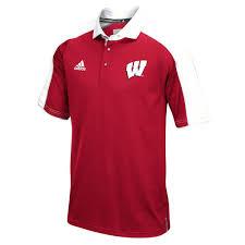 Dresser Wi Weather Forecast by Men U0027s Adidas Wisconsin Badgers Sideline Coaches Polo Size Medium