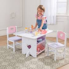 Kidkraft Heart Kids Table And Chair Set by Kidkraft Heart Table U0026 Chair Set Walmart Com