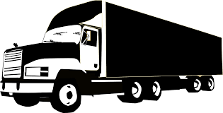 100 Semi Truck Clip Art Car Pick Up Image Black And White Library RR Collections
