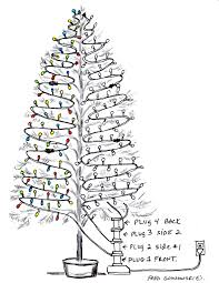 Christmas Tree Types Artificial by Putting Lights On A Christmas Tree U2026the Easy Way Fred Gonsowski