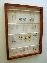 White Fabric Covered Board For Jewelry