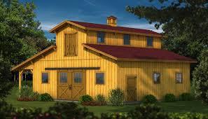 The Dakota: Wood Barn Kit - Plans & Information