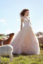 Wtoo Brides Enchanting Champagne Tulle And Taffeta Ball Gown Shimmers With Swarovski Crystal Rustic Wedding Dresses