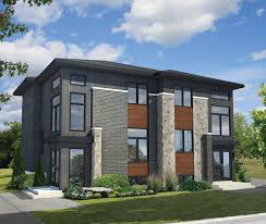 100 Modern Residential Architecture Floor Plans Multi Family 80781PM Architectural Designs K