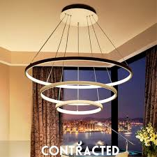 modern led abs chandelier lights l for living room bedroom