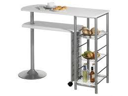 table bar cuisine conforama table haute de bar josua mdf décor blanc vente de table conforama
