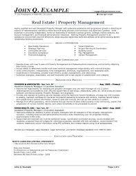 Real Estate Development Manager Resume Sample Entry Level John Q Example