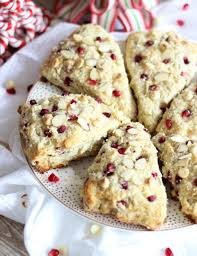 Easy Pumpkin Chocolate Chip Scones by Pomegranate White Chocolate Almond Scones