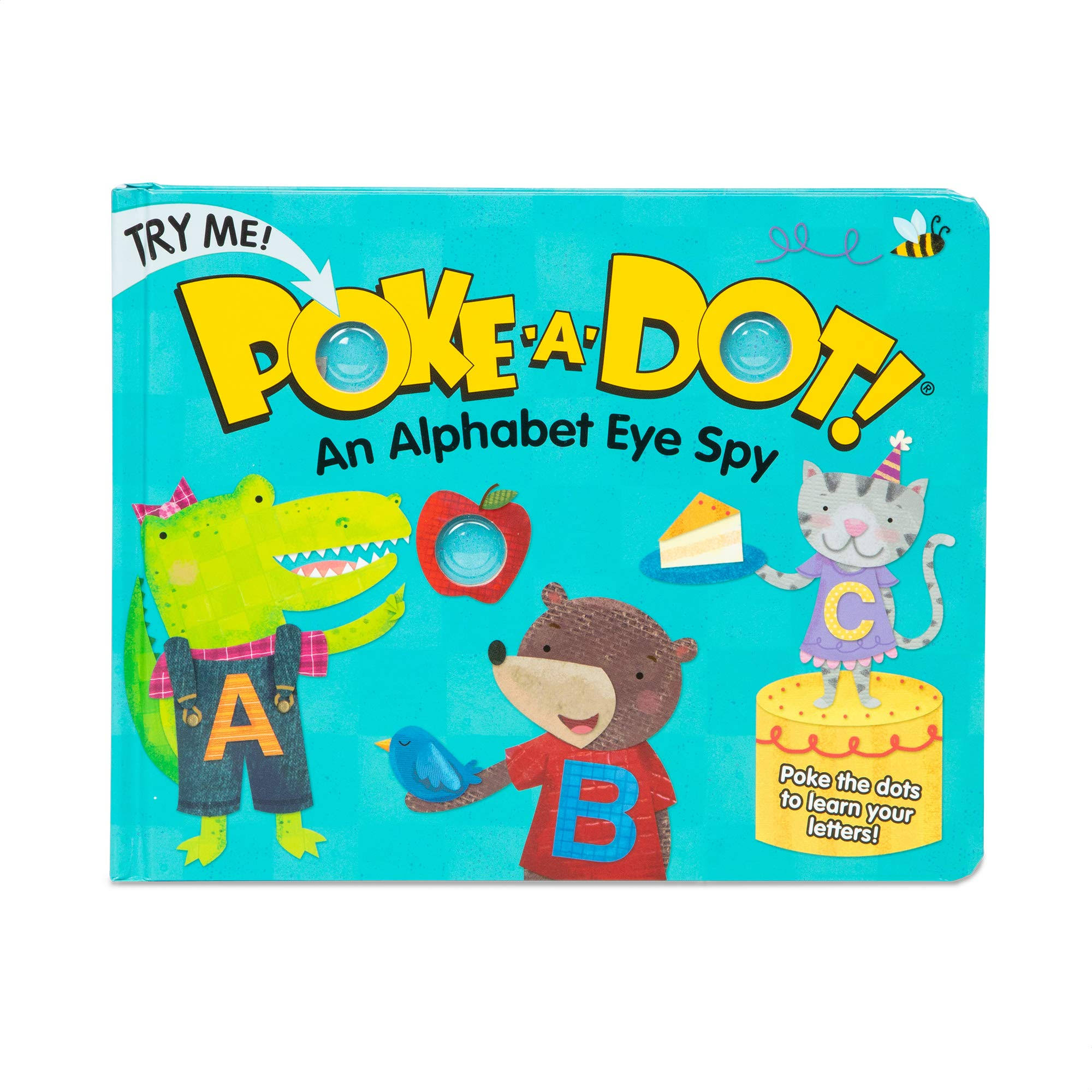 Melissa & Doug Poke-A-Dot Book- Alphabet Eye Spy