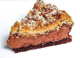nutella cheesecake mit streuseln