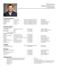 International Resume Format Download Standard At