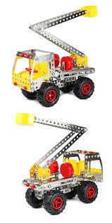 100 Model Truck Kits 156249Pcs Iron 3D Diy Assemblage Metal S Building