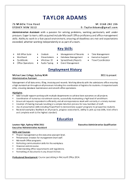 An Administrative Assistant Resume Sample Absolutely Free Executive Assistant Resume Sample Complete Guide 20 Examples Assistant Samples Best Administrative Medical Beautiful Example Free Admin Rumes Created By Pros Myperfectresume For Human Rources Lovely 1213 Administrative Resume Sample Loginnelkrivercom 10 Office Format Elegant Book Of Valid For Unique