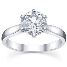 Round Brilliant 3 06 ct VVS2 Clarity D Color Diamond Platinum Solitaire Ring $179 999 99