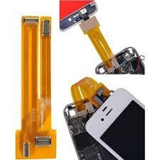 nappe connecteur de test écran lcd vitre iphone 4 et 4s pas cher