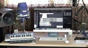 Home Recording Studio Setup Ideas Mac Of A Professional Music Project