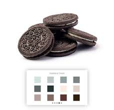 Cookies & Cream palette is newly added to in app item Make your plans more interesting with dark font colors in light background