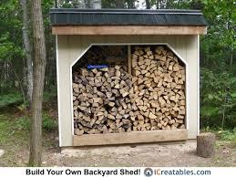 10 best firewood shed plans images on pinterest firewood shed