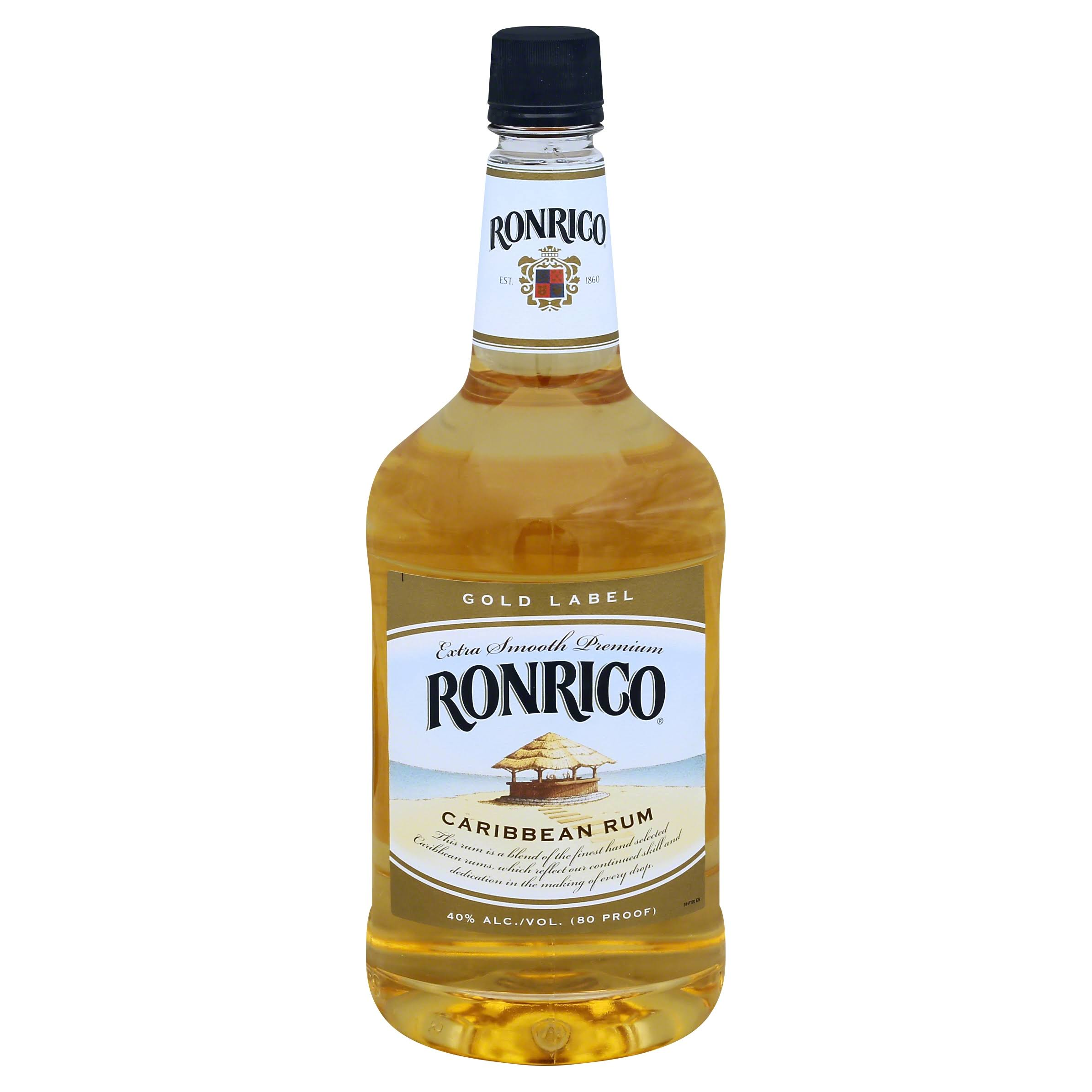 Ron Rico Caribbean Rum - 1.75L, Gold Label