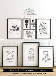 Printable Dua For Entering The Bathroom by Get Print Bathroom Wall Decor Scandinavian Modern Master