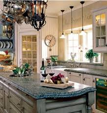 Kitchen Decorating Ideas Within Retro Country French Style