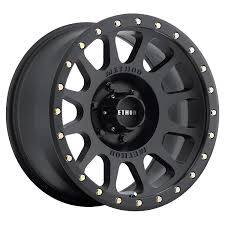 Amazon.com: Method Race Wheels NV Matte Black Wheel With Zinc Plated ...