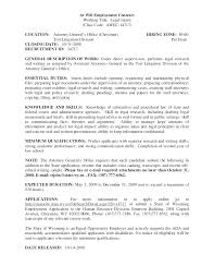 Resume Samples For Legal Jobs Plus Attorney Lawyer