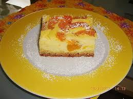 schmandkuchen mit mandarinen