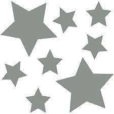 kleb drauf 8 sterne grau matt wandtattoo wandaufkleber wandsticker aufkleber sticker wohnzimmer schlafzimmer kinderzimmer küche bad deko