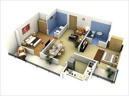 2 Bedroom Small House Design Two Plans Elegant Room