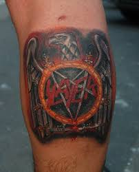 Slayer Tattoos Hanneman Tattoowise Metal Slayer Eagle