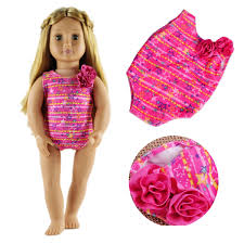 2Sets18 Inches Swimwear Bikini Clothes For American Girl Doll