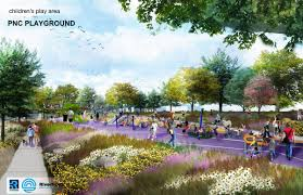 Riverfront Development ficially Begins Includes Interactive